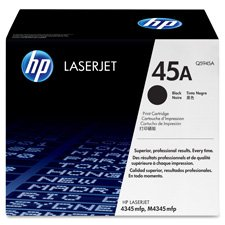 HP - Q5945A (HP 45A) Toner Cartridge, 18,000 Page-Yield, Black - HEWQ5945A