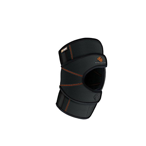 Shock Doctor Knee Brace Stabilizer Wrap, Knee Support for Patella Tracking Issues & Tendonitis, Single