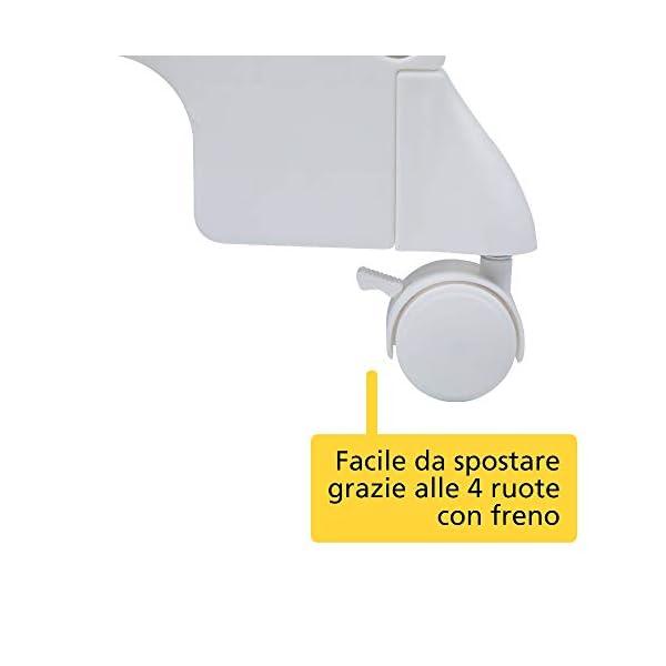 Safety 1st Dolphy Fasciatoio con vaschetta per bagnetto neonato, con materassino imbottito incluso, colore warm gray 4