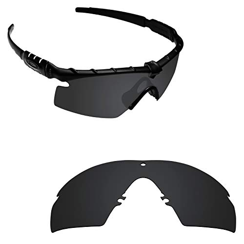 Stealth Polarized Mirror - Alphax Stealth Black Polarized Replacement Lenses for Oakley Si M Frame 2.0