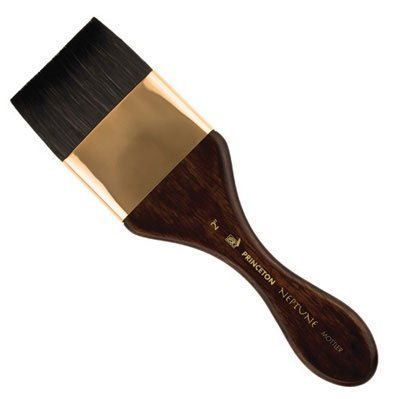 (Princeton 4750M-150 Neptune Synthetic Squirrel Watercolor Brush Mottler 1.5 by Princeton)