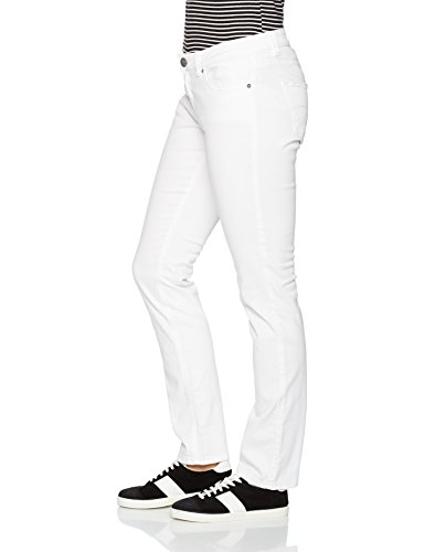 Q/S designed by - s.Oliver Damen Slim Jeans 45899710414, Weiß (White 0100), 38