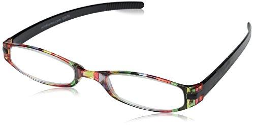 Wink Expressions Stripe Reading Glasses, Multi Stripe (+3.00) ()