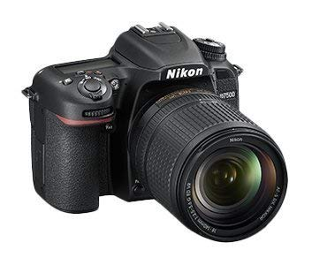 Nikon D7500 Camera (Black) with AF-S VR Nikkor 18-105mm VR Lens Kit, 16GB Class 10 SD Card and Carry Case