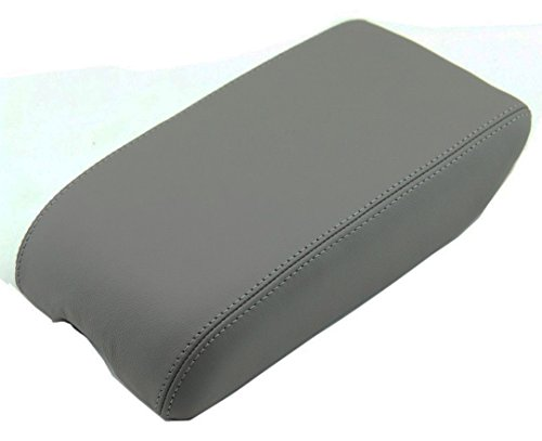 Avalon Console - Fits 2000-2004 Toyota Avalon Synthetic Gray Leather Center Console Armrest Cover . (Skin Only)