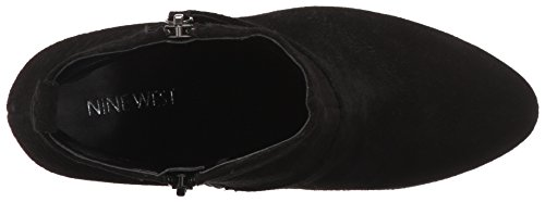 Nine Black West Suede Women's Gowithit Boot qwHF8xqn