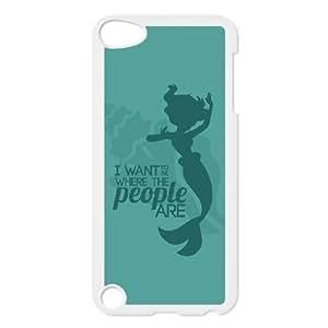 ipod 5 phone case White Disney the little mermaid Ariel XXD0999185