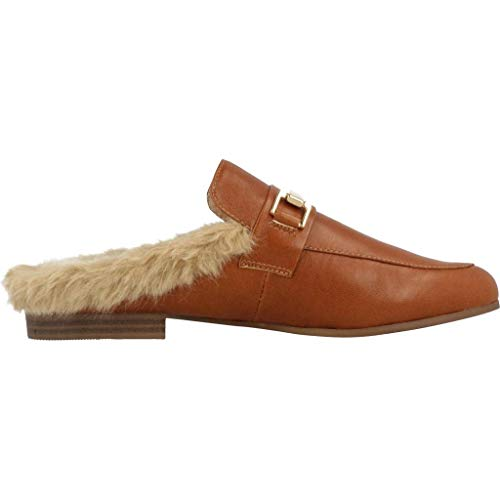 Hair by Madden Steve Leather Marron Mule AxUwfqn