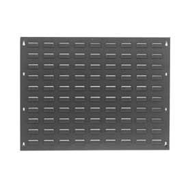 Steel Louvered Wall Panel Without Bins, 27x21 - Lot of 2 by Global Industrial