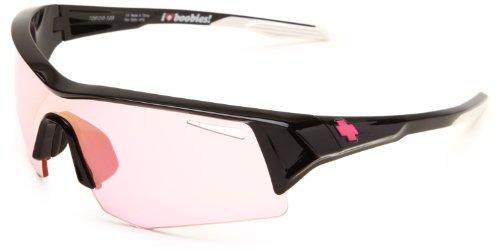 Spy Optic Screw 673019038943 Wrap Sunglasses,Spy Keep A Brest Frame/Pink Pink Spectra Lens,One - Spy Sunglasses Screw