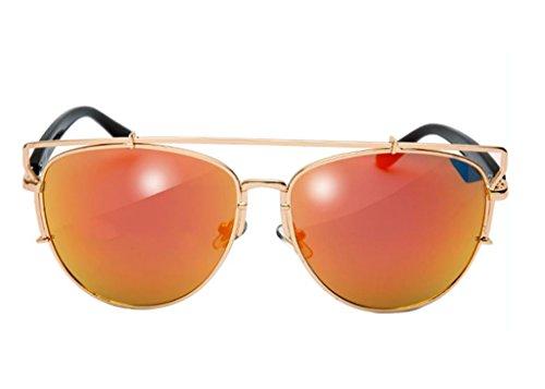 Metal 5 Hueco sol Color Vintage sol 1 Gafas Gafas de de X9 Gafas R4wOxpA
