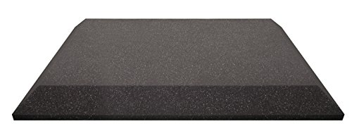 Ultimate Acoustics UA-WPB-24 Wall Panel 24''x24''x2'' Professional Acoustic Foam with Bevel and Mounting Tabs Included, 4 Pairs by Ultimate (Image #1)