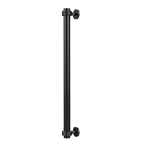 Allied Brass 402G-RP-ORB 18 Inch Refrigerator Pull with Groovy Accents, Oil Rubbed Bronze ()