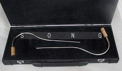 FidgetFidget 2 pcs Bassoon bocal crook metal mouthpiece + case