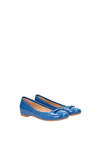Blu Ballerine Vernice Jeans Donna Armani qUwI8O