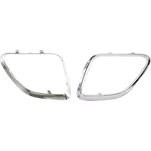 - Grille Molding compatible with Pontiac G6 05-09 RH and LH Chrome Left and Right Side