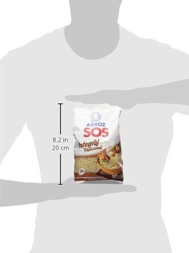 Arroz SOS - Arroz Integral SOS 1 Kg - [pack de 4]: Amazon.es: Alimentación y bebidas