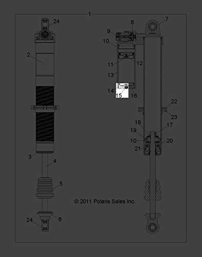 Polaris 2006-2014 Rzr Xp 900 Outlaw 525