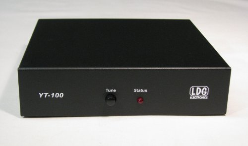 - LDG Electronics YT-100 Automatic Antenna Tuner 1.8-54 MHz, .1-125 Watts, 2 Year Warranty, Works with: FT-857/FT-897/FT-100 Series