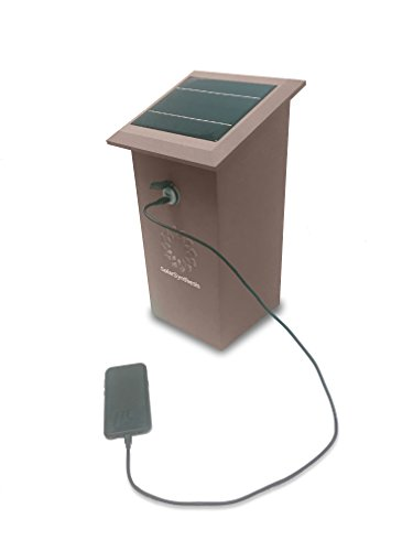 Solar Powered Cell Phone Charging Station - 8