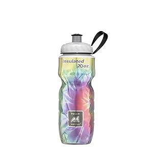 Polar Bottle Insulated Water Bottle, Tie Dye Rainbow