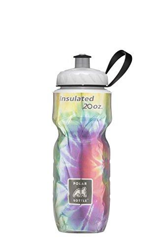 Polar Bottle Insulated Water Bottle, Tie Dye Rainbow by Polar Bottle