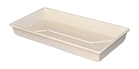 MFG Tray 1105085105 Toteline Nesting Container, Seed Tray, Glass Fiber Reinforce Plastic Composite, 21.5 x 11 x 2.5, Green MFG Tray Company