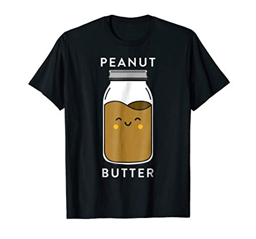 Peanut Butter & Jelly Matching Couple Shirts Funny Outfits