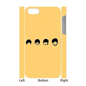 DIY The Beatles 3D Phone Case, DIY 3D Case Cover for iphone 4,4s with The Beatles (Pattern-4)