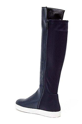 Women's Suede Stretch Back Flat Fashion Sneaker Boot