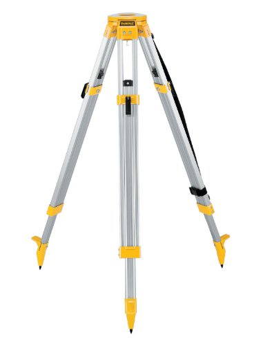 DEWALT DW0736 5/8-Inch 11-Threaded Flat Head Tripod
