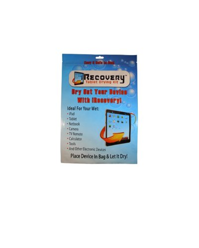 iRecovery IR33-36pk Cell Phone Drying Kit, Pack of 36, 36-Pack Blue