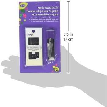 #24 /& #26 Needles /& Storage Case LoRan  Needlepoint Needle Tool Kit Threader