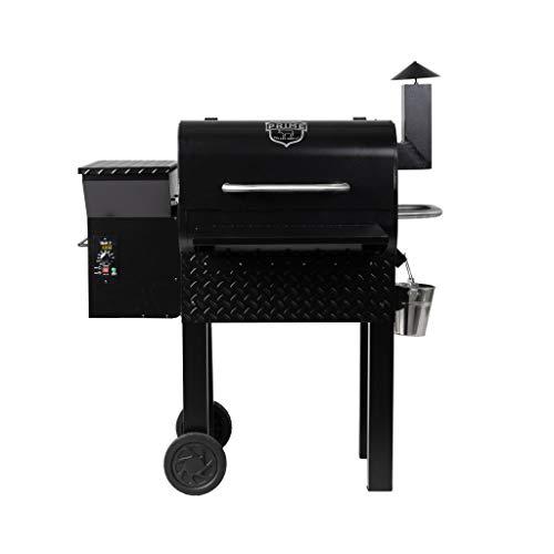 Prime Pellet Grills 81221 KC King 600 Electric Pellet Smoker, Black