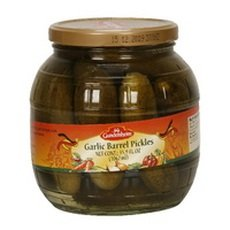 Barrel Pickles (Kuhne Garlic Barrel Pickles, 34.2 Ounce (Pack of 6))