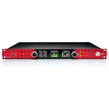 focusrite red 8pre 64 in 64 out thunderbolt 2 pro tools hd and dante compatible. Black Bedroom Furniture Sets. Home Design Ideas