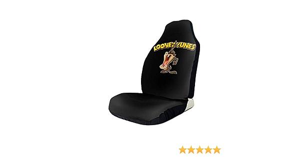 NOT Soft Flexible Polyester Looney Tunes Tasmanian Devil Taz Car Seat Covers 1 PCS