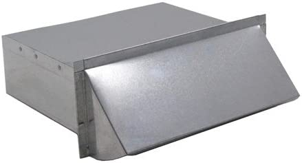 Rectangular Wall Vent 3-1/4 x 14 Inch | for Kitchen Exhaust ...