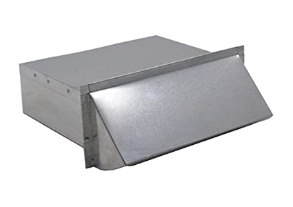 Rectangular Wall Vent 3-1/4 in. x 14 in. - Galvanized 3-1/4 ...