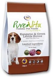 PureVita Grain Free Kangaroo Green Lentils Dog Food 25 lbPureVita Grain Free Kangaroo Green Lentils Dog Food 25 lb