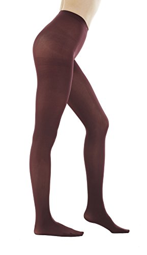 Womens Denier Opaque Footed Pantyhose