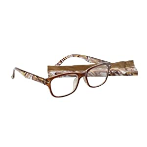 Select-A-Vision Victoria Klein Fashion Readers Vintage, Brown, +1.25