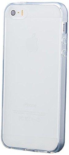 Apple iPhone SE / 5S / 5 | Cas iCues TPU Matt White | [Protecteur d'écran, y compris] protecteur de feuille transparente Temps clair de gel de silicone Housse étui de protection couverture Coque Houss