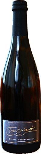 Alkoholfreier Sekt von Traubensamt | 1x Flasche Traubensecco - 0,75 Liter | Halbtrocken | Fruchtiger Qualitätssekt aus Deutschland