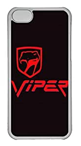 iPhone 6 plus Case, iPhone 6 plus Cases - Anti-Scratch Shell White Soft Rubber Case for iPhone 6 plus Dodge Viper Car Logo 9 Protective Back Bumper Case for iPhone 6 plus Kimberly Kurzendoerfer
