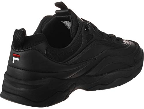 Ray black 12v Unisex 1010561 Fila 12v Adulto Schwarz Zapatillas Low 1010561 Pwqx8gdZS