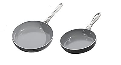 BergHOFF Earthchef Boreal II 2-Piece Non-Stick Ceramic Frying Pan Set