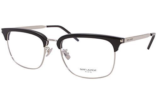 Yves Saint Laurent frame (SL-346 001) Metal - Acetate Silver - Black