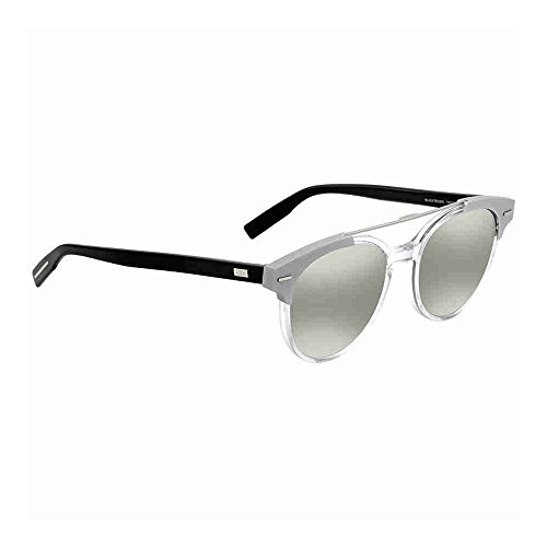 Dior Crystal (Christian Dior Black Tie 220/S Sunglasses Crystal Black/Silver Mirror)