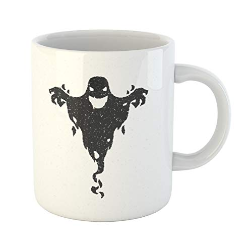 Semtomn Funny Coffee Mug Monster Halloween Scary Ghost